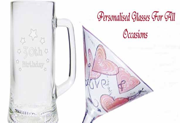 Personalised Glasses Banner